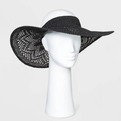 Women's Open Weave Visor Hats - A New Day™
