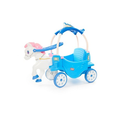 Little Tikes Princess Horse & Carriage - Frosty Blue - image 1 of 4