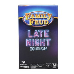 Family Feud Late Night Edition Board Game, Adult Unisex