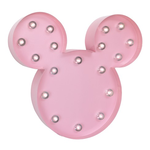 Disney Mickey Mouse & Friends Minnie Mouse Marque Light - image 1 of 4