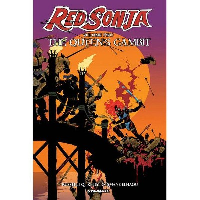 Red Sonja Volume 2: The Queen's Gambit - by  Mark Russell (Paperback)