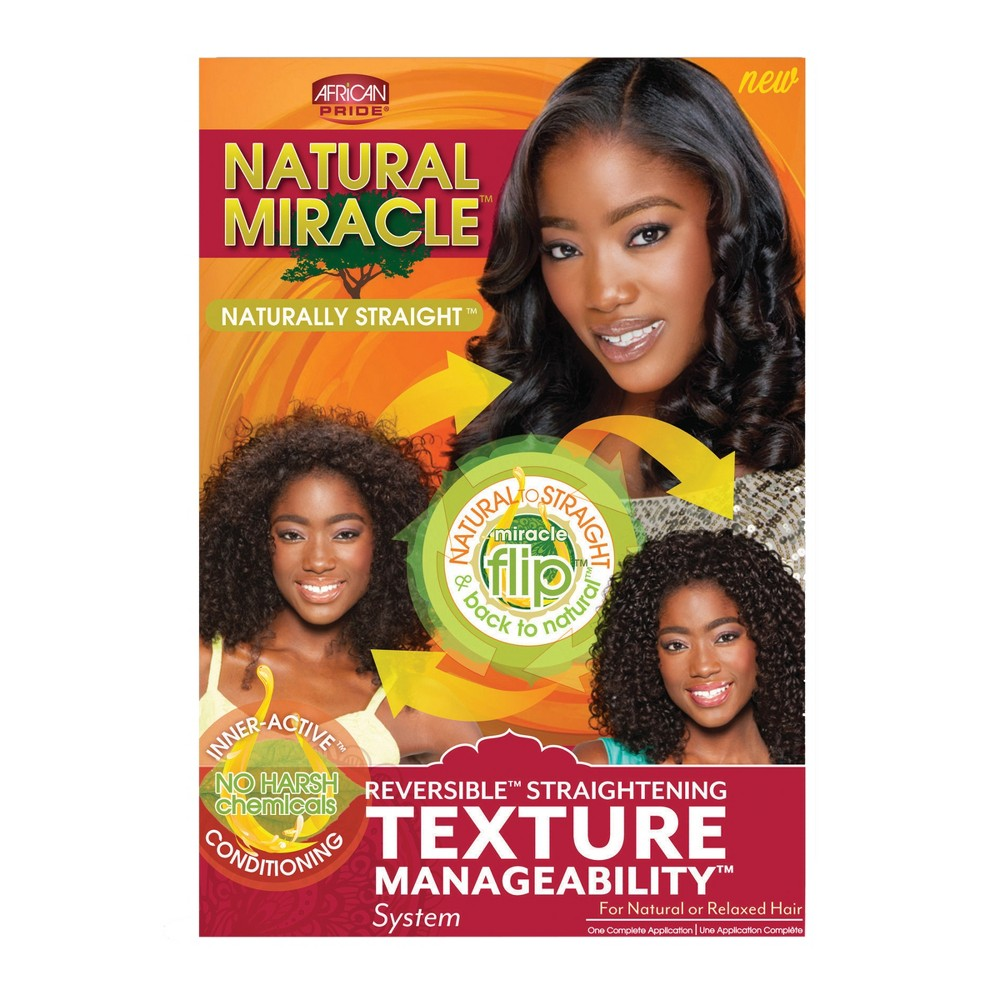 Image of African Pride Natural Miracle Texture Manageability System - 8oz