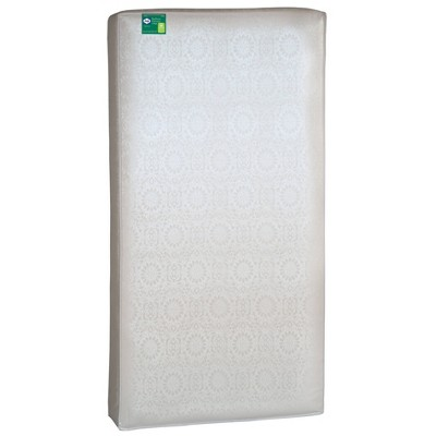 Sealy Soybean Dreams Antibacterial 2-Stage Crib and Toddler Mattress