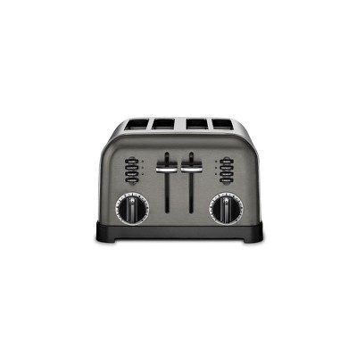 Cuisinart Classic 4 Slice Toaster - Black Stainless