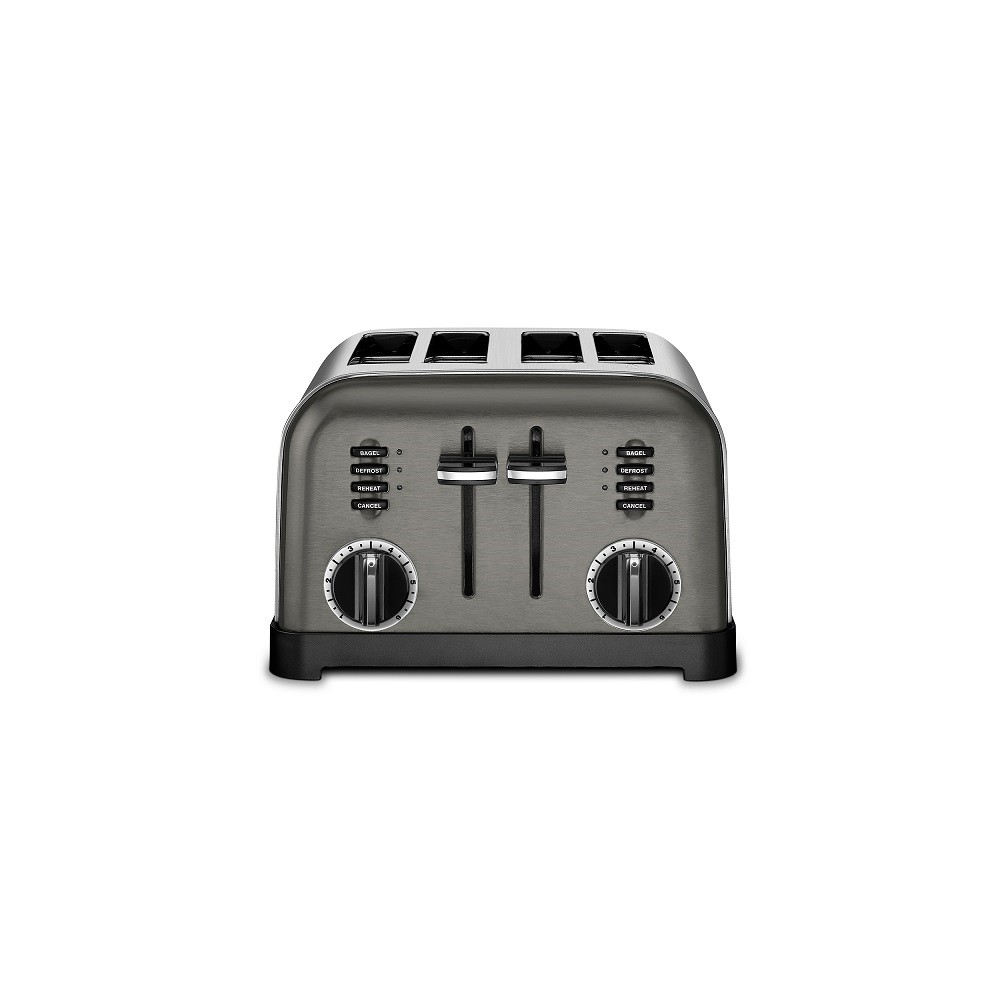 Cuisinart Classic 4 Slice Toaster – Black Stainless, Dark Silver 53675581