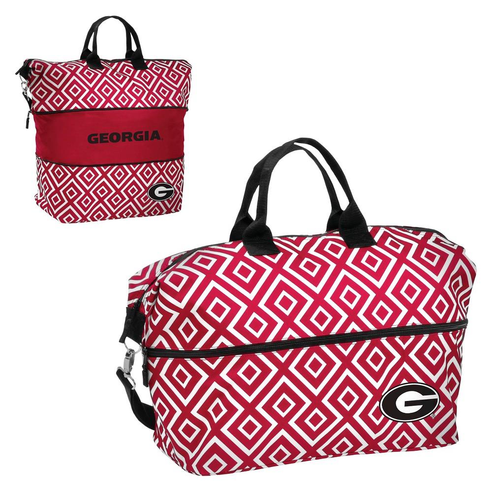 Georgia Bulldogs Expandable Tote Bag, Adult Unisex