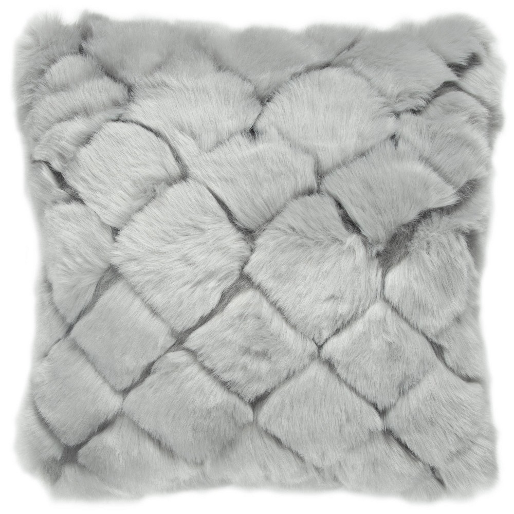 "Image of ""20""""x20"""" Square Polyester Filled Pillow - Rizzy Home"""