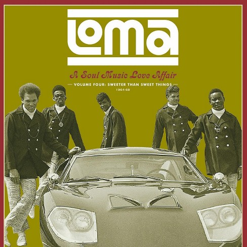 Various - Loma:Soul music love affair vol 4 swe (Vinyl) - image 1 of 1