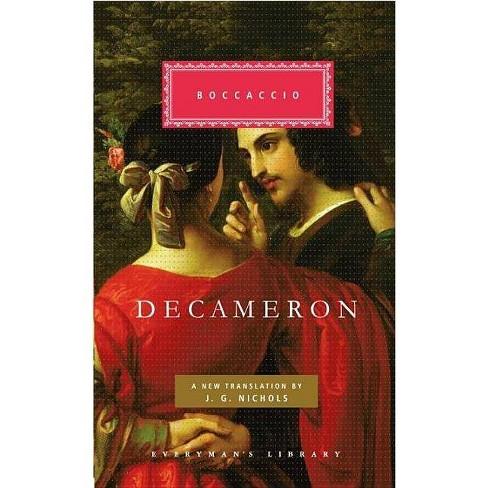Decameron - (Everyman's Library Classics & Contemporary Classics) by  Giovanni Boccaccio (Hardcover) - image 1 of 1