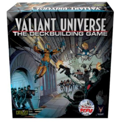 Valiant Universe - The Deck Building Game Board Game