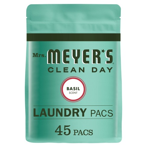 Mrs. Meyer's Clean Day Basil Scent Laundry Detergent Pacs - 28oz - image 1 of 3