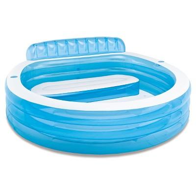 Intex 88  X 85  X 30  Swim Center Family Lounge Inflatable Pool