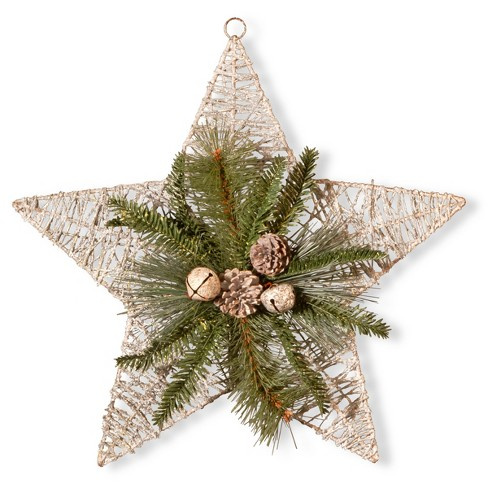 "18"" Holiday Star Decorative Wall Art - National Tree Company - image 1 of 2"