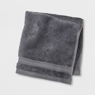 Perfeclty Soft Solid Washcloth Pigeon Gray - Opalhouse™