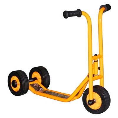 RABO powered by ECR4Kids 3-Wheel Stand-Up Scooter, Premium Toddler Scooter for Kids (Yellow/Black)