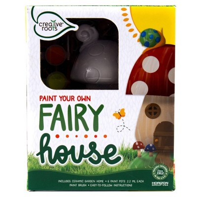 Creative Roots Paint Your Own Fairy House