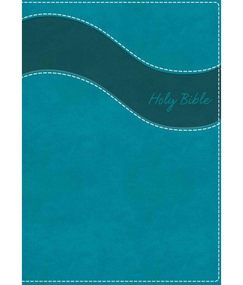 Holy Bible : New International Version, Turquoise, Leathersoft (Gift) (Paperback) - image 1 of 1