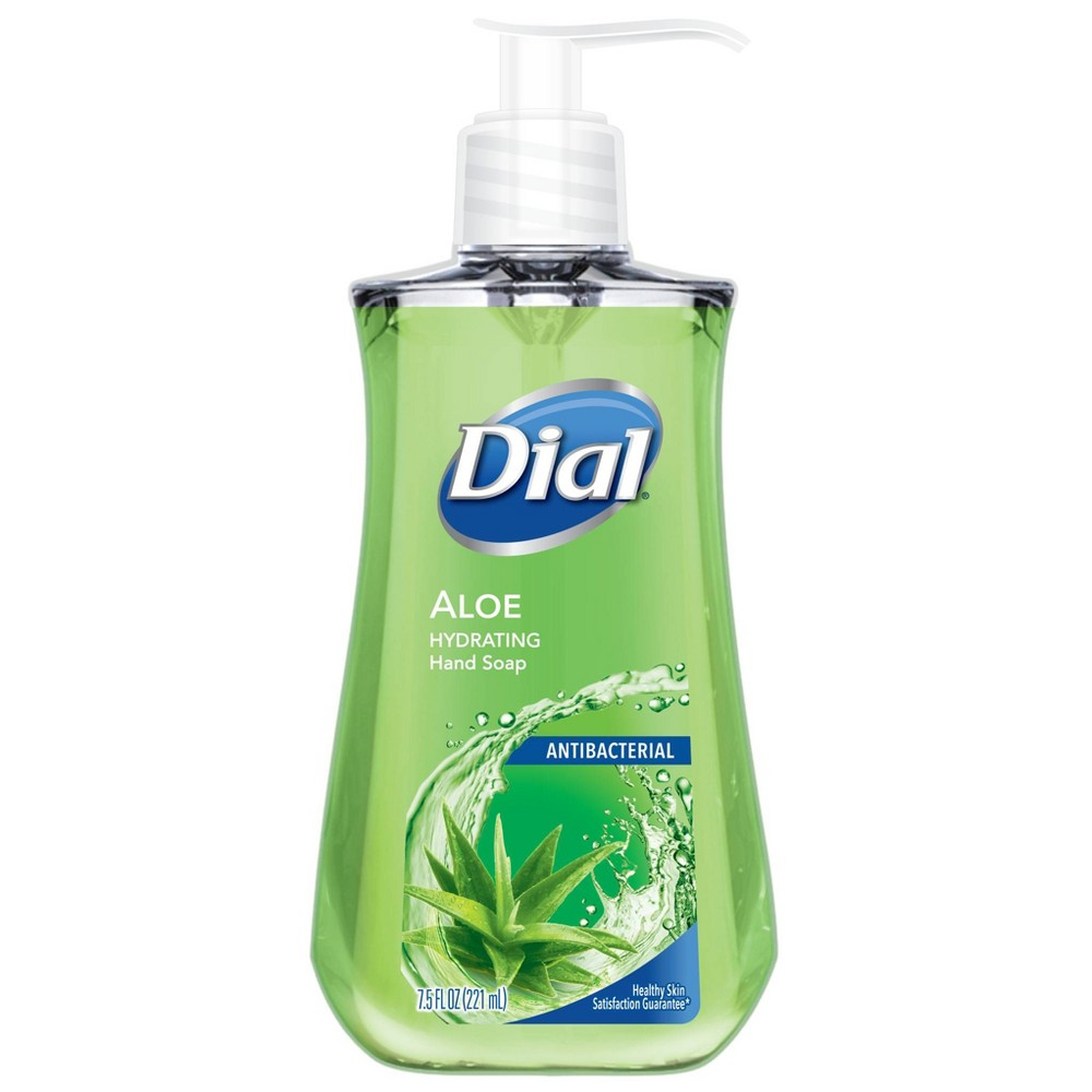 Image of Dial Antibacterial Aloe Liquid Hand Soap - 7.5oz