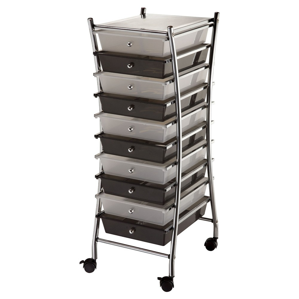 Image of Blue Hills Studio Scrapbooking Tool Organizer - Steel/Black