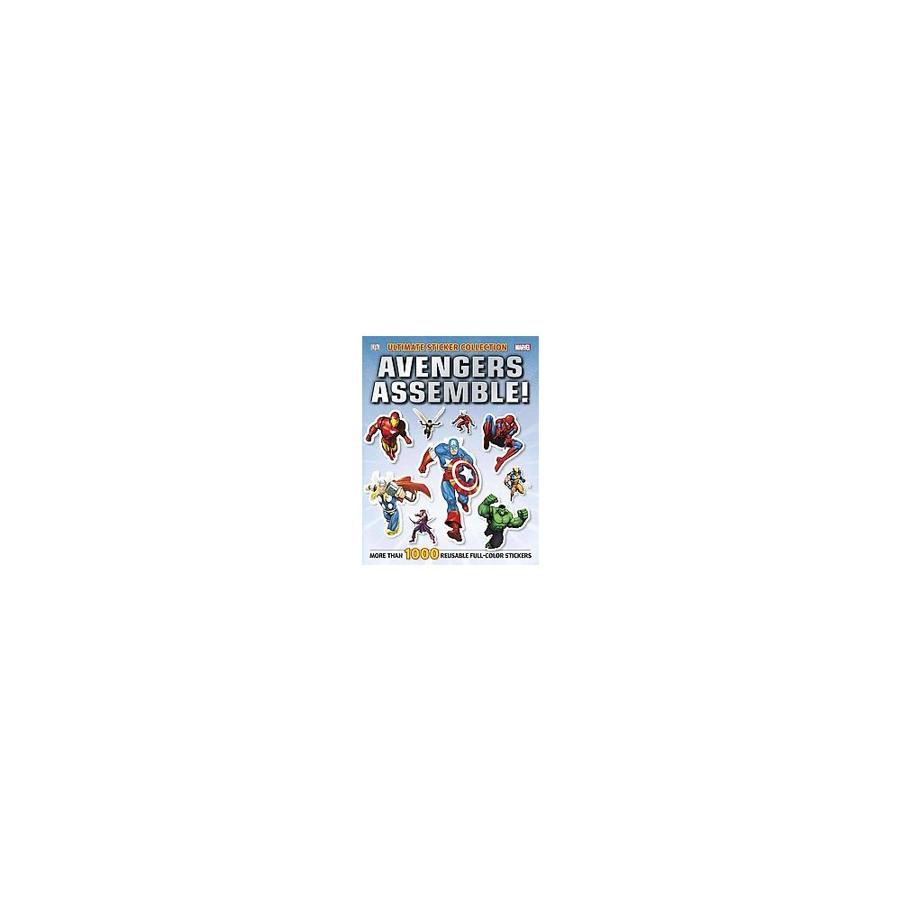Marvel Avengers Assemble Ultimate Sticker Collection Paperback By Julia March