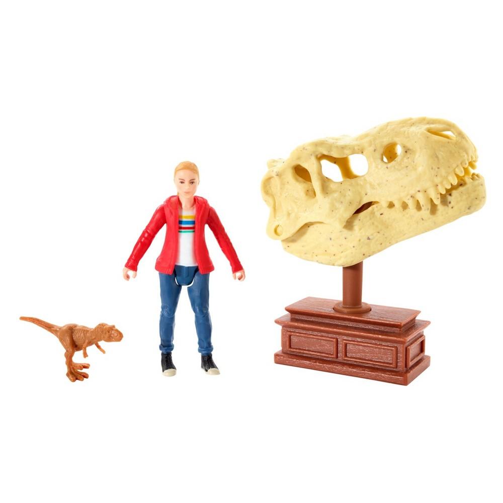 Jurassic World Maisie & Tyrannosaurs Rex Figure 2pk