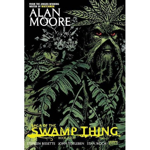 Saga of the Swamp Thing Book Four - by  Alan Moore (Paperback) - image 1 of 1