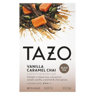 Tazo Chai Vanilla Caramel Black Tea - 20ct