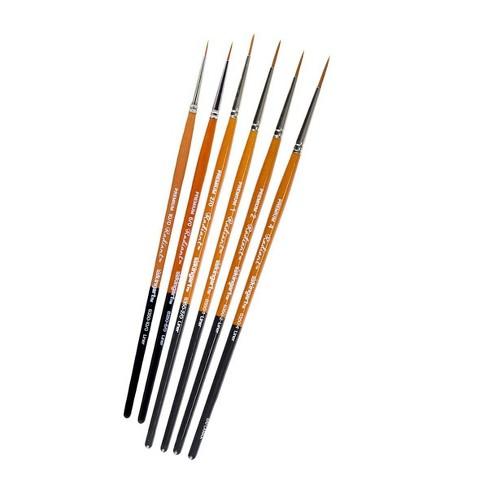 Kingart 6ct Radiant Liner Brush Set - image 1 of 2