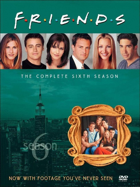 Friends: The Complete Sixth Season [4 Discs] - image 1 of 1