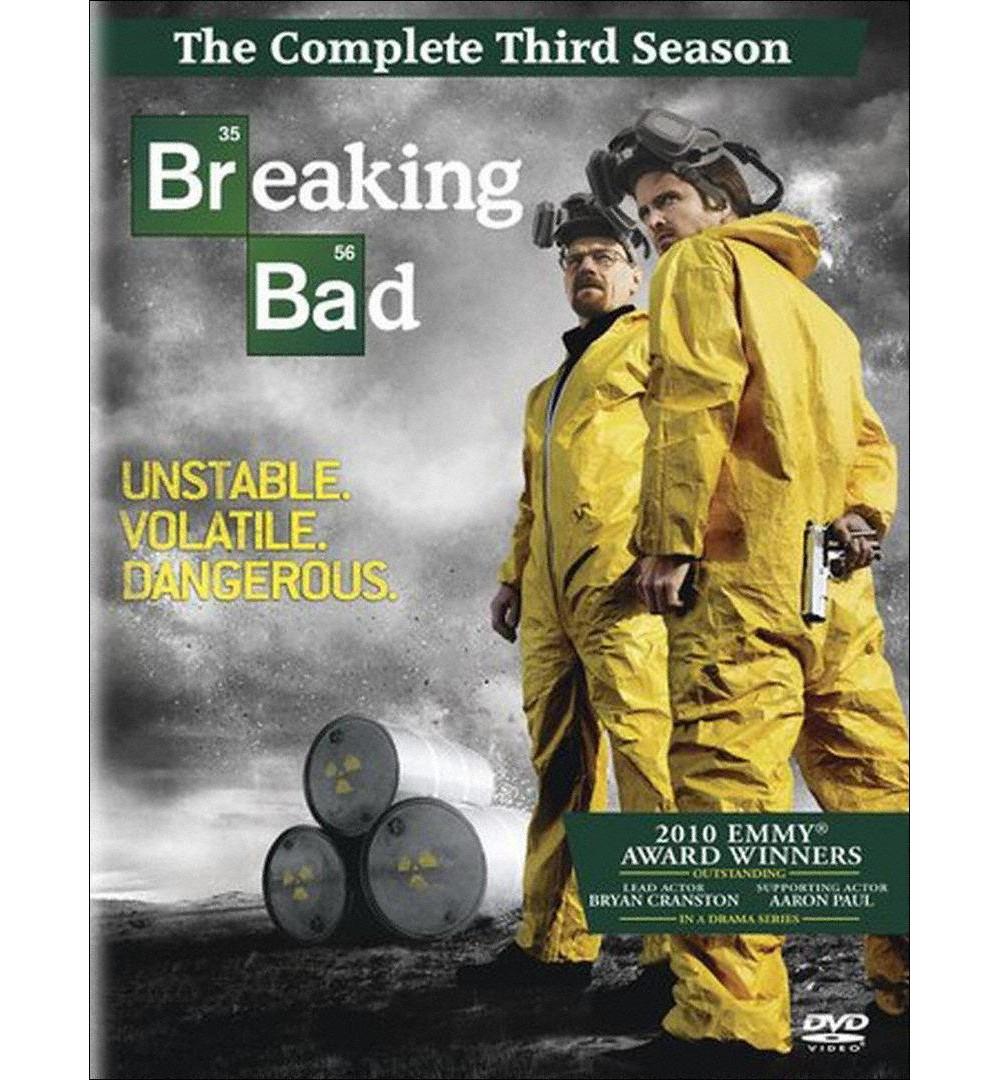 Tristar Breaking Bad: The Complete Third Season (4 Discs)