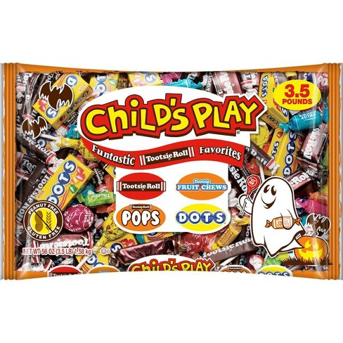 Child's Play Halloween Assorted Chocolate & Candy Bag - 56oz - image 1 of 3
