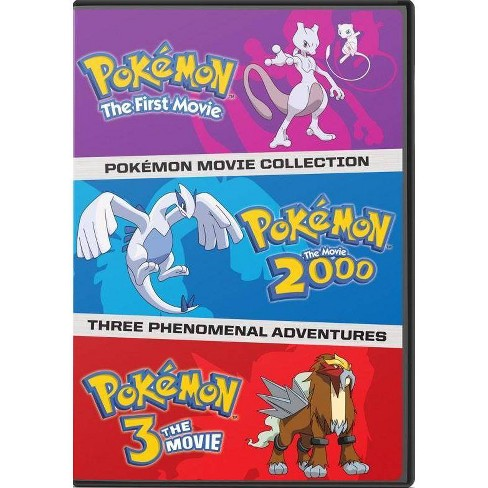 Pokemon: The First Three Movies (DVD) - image 1 of 1