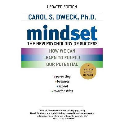 Mindset (Reprint) (Paperback) by Carol S. Dweck