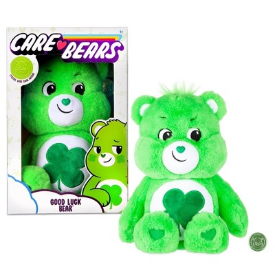 Care Bears Basic Medium Plush - Good Luck Bear