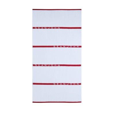 6pc Block Letter Bath Towel Set - Sean John