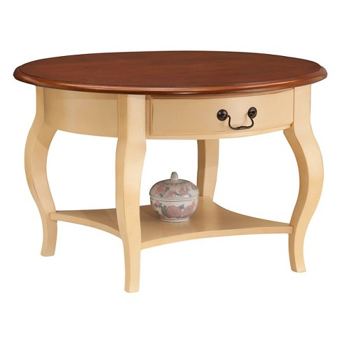 Surprising Favorite Finds Coffee Table Ivory Finish Leick Home Caraccident5 Cool Chair Designs And Ideas Caraccident5Info