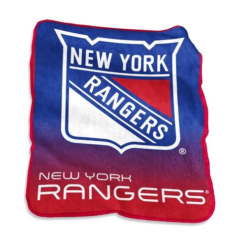 New York Rangers Raschel Throw Blanket   Target 5effc59da
