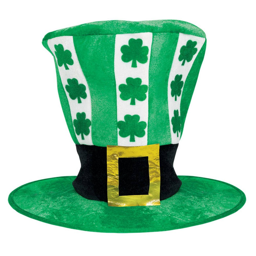 Adult St. Patrick's Day Oversize Costume Hat One Size, Adult Unisex, Green