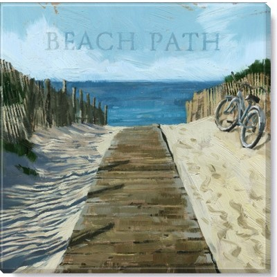 Sullivans Darren Gygi Beach Path Canvas, Museum Quality Giclee Print, Gallery Wrapped, Handcrafted in USA