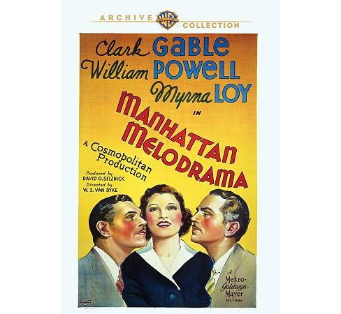 Manhattan Melodrama (DVD) - image 1 of 1