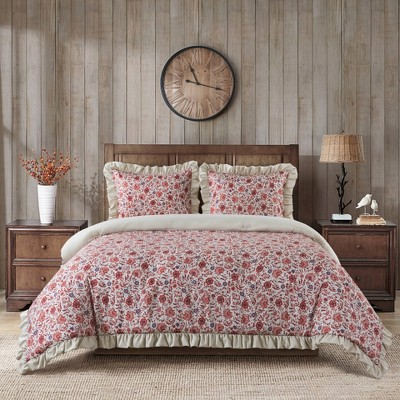Harper Jacobean Comforter Set - Country Living