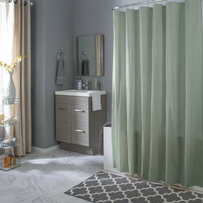 Hotel Collection Mold & Mildew Resistant Fabric Shower Curtain