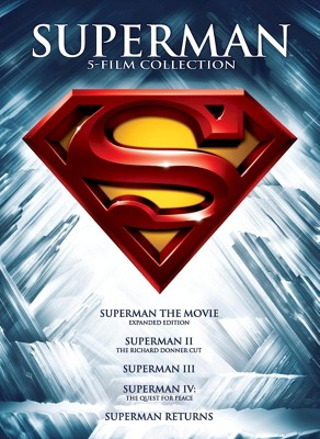 Superman: 5 Film Collection (DVD)