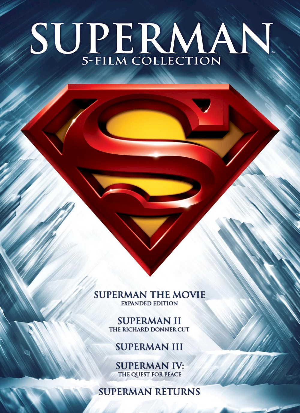 Superman 5 Film Collection (5 Discs) (dvd_video)