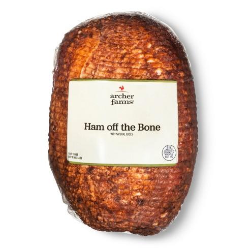 Ham off the Bone - Deli Fresh Sliced - price per lb - Archer Farms™ - image 1 of 2