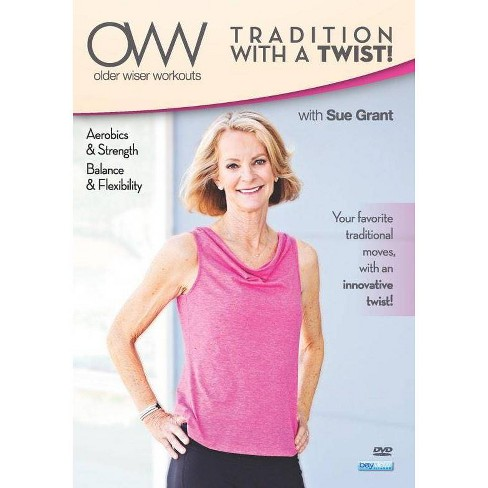 Older Wiser Workouts: Traditional with a Twist Balance & Flexibility (DVD) - image 1 of 1