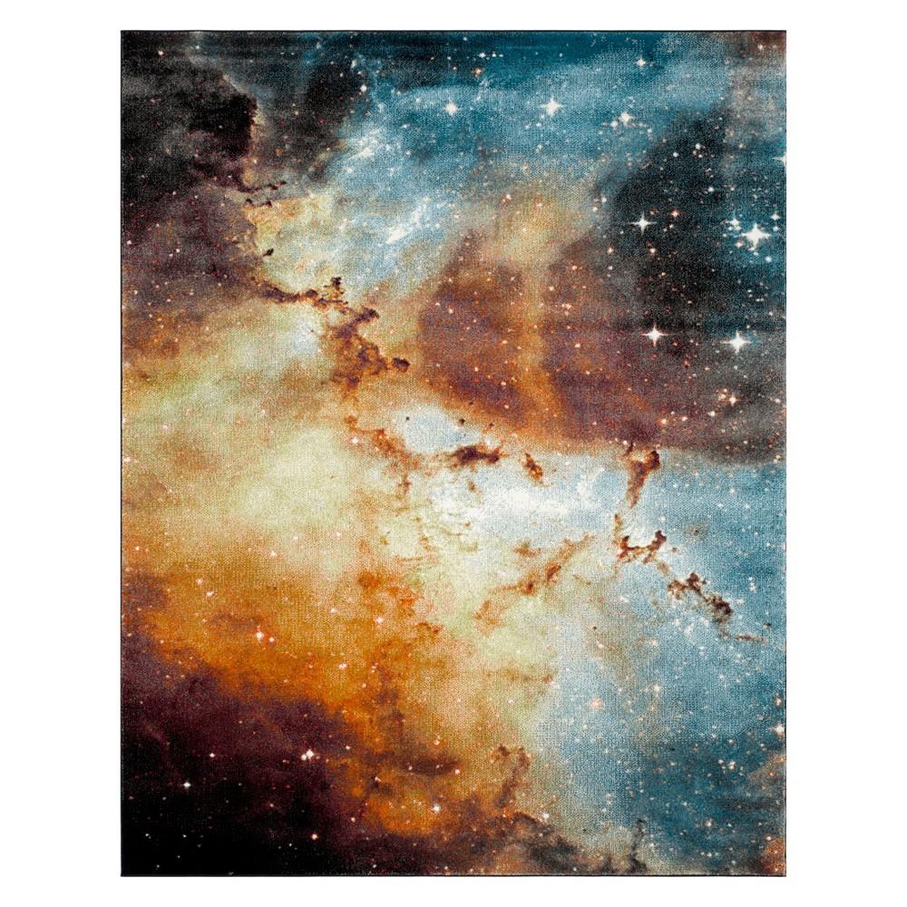 9'X12' Galaxy Loomed Area Rug Orange - Safavieh