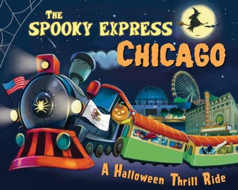 Spooky Express Chicago -  by Eric James (Hardcover) - image 1 of 1