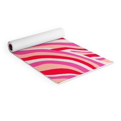 One Size Pink Tunturi Unisexs XPE Non Slip Yoga Fitness Mat