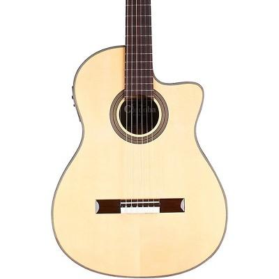 Cordoba 12 Natural Spruce Top Classical Acoustic-Electric Guitar Natural